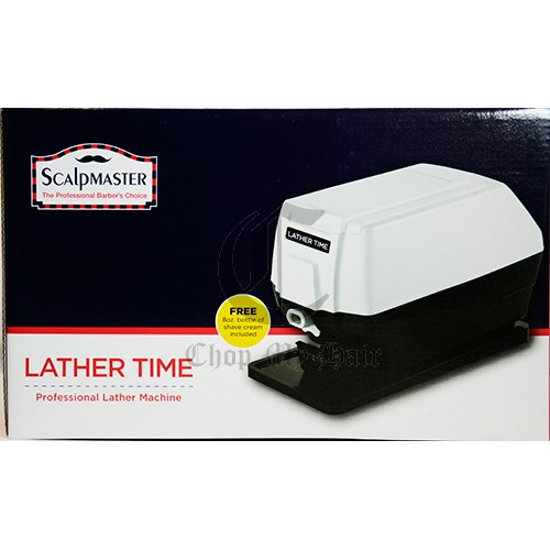 scalpmaster lather time machine