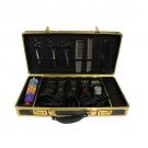 Barber/Stylist Black & Gold Traveling Case w/ Secure Straps