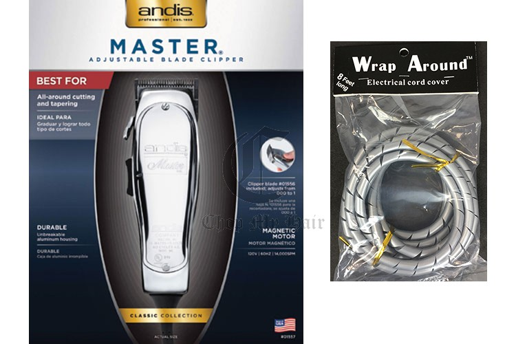 Andis Master Hair Clipper Adjustable Blade Magnetic Motor