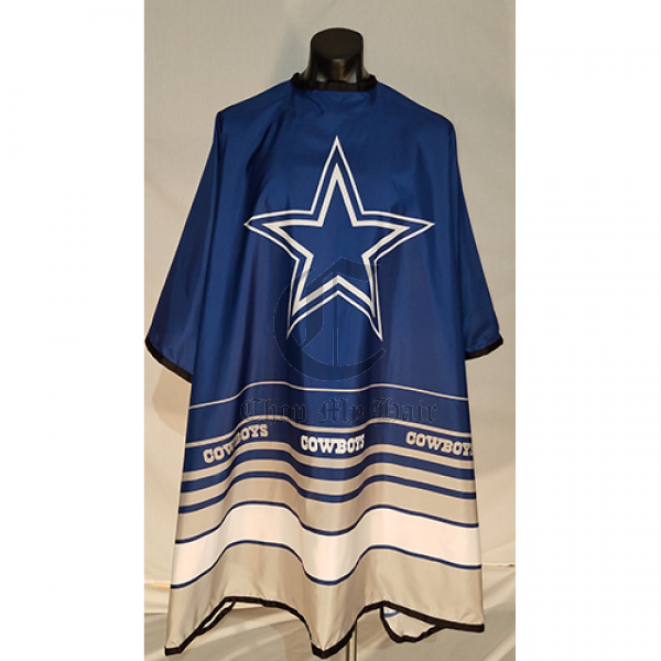 Dallas Cowboys Nfl Official License Barber Hair Cutting Capes